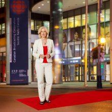 portrait of CBC host