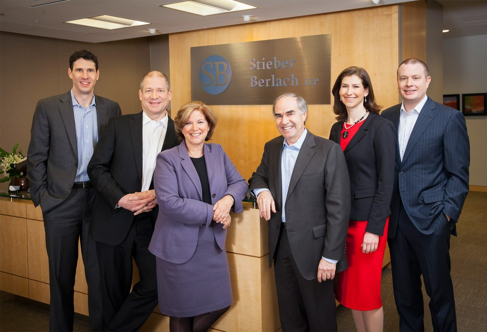 Law firm group portrait photography