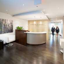 corporate photo of lobby