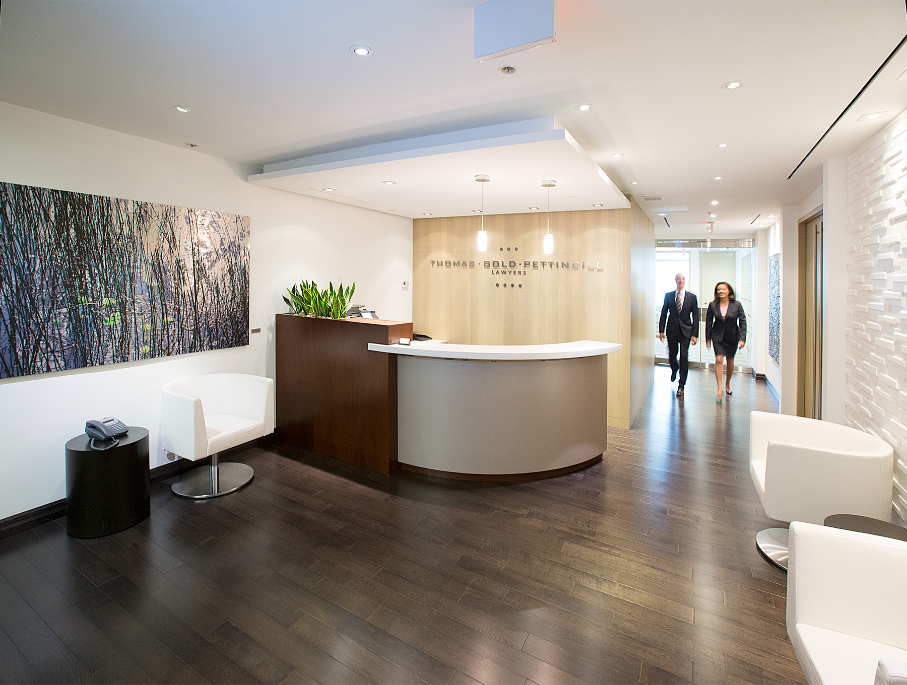 corporate photo of lobby