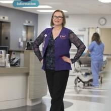 Mackenzie Health annual report photography