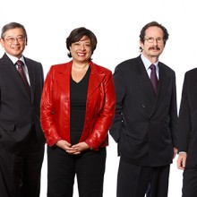Executive group portrait photography