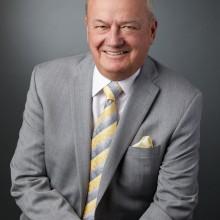 Corporate Head and shoulder portrait of John Mills for Mackenzie Health