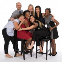 Corporate group image, Touchstone group photo