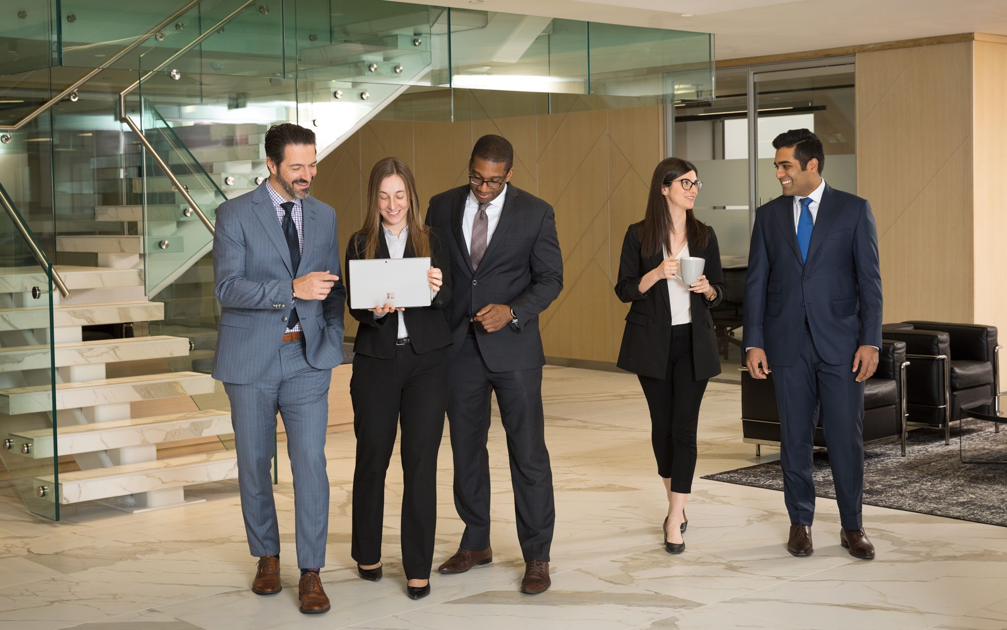 Corporate Group portrait Kingsett Capital