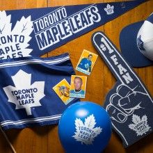 Photo of Toronto Maple leaf items