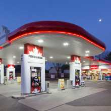 Petro Canada exterior photography