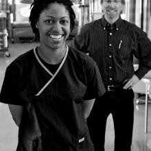 Healthcare portrait photography