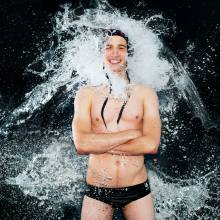 Portrait of Water Polo player